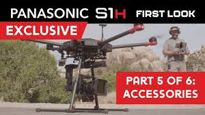 Panasonic S1H - Part 5: <b>Accessories</b>- SD Cards, <b>Batteries</b>, <b>Drones</b> ...