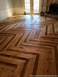Source  Hardwood Floors Made From Pallets Floor Ideas
