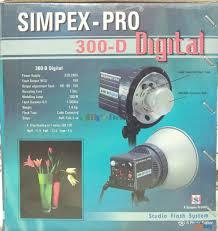 Simpex Pro 300d With Softbox Studio Light Simpex Pro 300d Studio Photo Light With Softbox