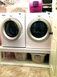 diy laundry pedestal pedestals appliance plans with storage drawer washing machine washer dryer pe diy laundry pedestal washer and dryer