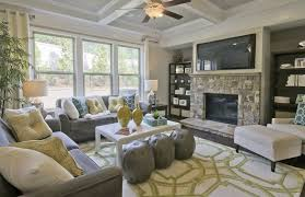 transitional living room furniture. Transitional Living Room With High Ceiling, Flush Light, Box Benchcraft Janley Sofa Furniture