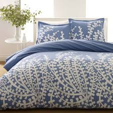 city scene branches french blue 3 piece duvet set ping great