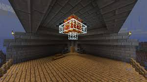 how to make a small chandelier in minecraft designs