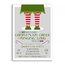 holiday invitations christmas invitations christmas invitation elf christmas party