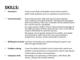 Communication Skills Examples For Marvelous Skills Examples For Fascinating Communication Skills Examples On Resume