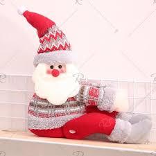<b>Christmas Cartoon</b> Curtain Buckle Hotel <b>Decoration</b> Doll Window ...