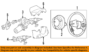 chevrolet gm oem 06 11 hhr steering column intermediate shaft image is loading chevrolet gm oem 06 11 hhr steering column