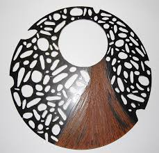 hair large metal wall art outdoor sample garden decoration excellent stainless steel brown indoor