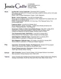 resume jessie cadle s online portfolio jessie cadle resume 2015