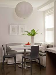 breakfast banquette furniture. amie weitzmanu0027s gray breakfast nook with built in bench banquette style seating and two chairs modern update furniture