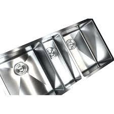 triple bowl kitchen sink undermount triple bowl stainless steel undermount kitchen sink