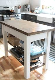 diy kitchen furniture. Beautiful DIY Kitchen Island On Wheels 8 Diy Islands For Every Budget And Ability Blissfully Furniture S