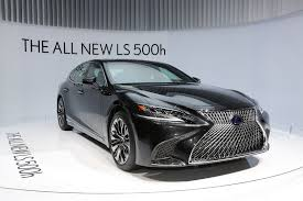 2018 lexus 500 f sport. Interesting Sport 2018 Lexus LS 500 F Sport The AllNew 500h Gets Revealed In  Geneva  Inside Lexus F Sport Autoevolution