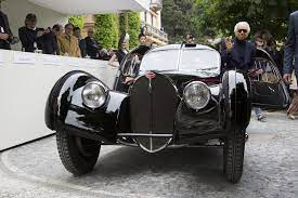 This vehicle, with chassis number 57 374, is now known as the rothschild atlantic. Bugatti Type 57sc Atlantic