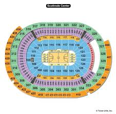 Ufc St Louis Seating Chart Scottrade Center St Louis Mo Seating Chart View