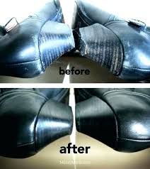 how to repair scratched leather fix scuffed shoes make old boots look new remove scratches black