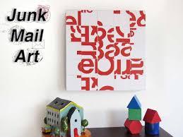 14 junk mail wall art on diy wall art photoshop with 14 junk mail wall art diy projects for teens