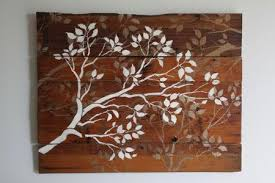 oil painting white abstract artworks palette brown pinterest furniture interior adorable wood tree wall art imagine on wall art wooden tree with wall art classic wood tree wall art galleries carved wooden tree