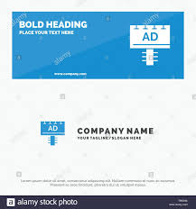 Ad Board Advertising Signboard Solid Icon Website Banner