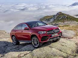 The newly designed front with a stylish diamond grille and tyres of up to 22 inches in size provide for added verve and presence. Mercedes Benz Gle Coupe 2020 Pictures Information Specs