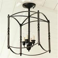 country style lighting. lighting semi flush mounts american country style light black iron mount ceiling e