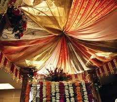 indian wedding decorations at home
