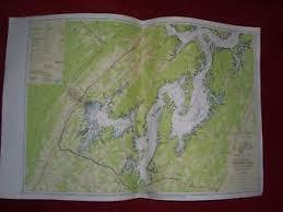Tennessee River Navigation Charts Details About 1960 Tva Tennessee River Navigation Chart Mile 529 548 Watts Bar Reservoir