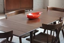 Epandable Dining Table For Small Spaces Is Also A Kind Of Room Set In Dark  Brown