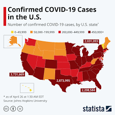 Chart: Confirmed COVID-19 Cases in the ...