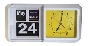 clock showing day