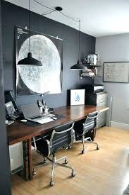 ikea small office ideas. Home Office Ideas Black Wall With Wood Design And Industrial Lighting Small  Decorating Ikea Ikea Small Office Ideas E