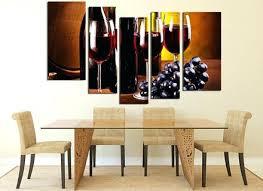 wine bottle garden wall art metal outdoors 5 piece huge canvas print glass martial arts decor