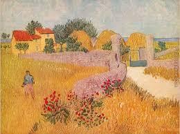 gateway to the farm painting vincent van gogh gateway to the farm art painting