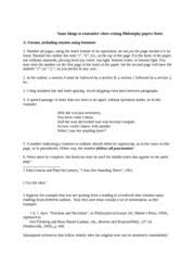 philosophy paper a moral dilemma handout outline sample paper  6 pages notes for tips on how to write a good and properly format philosophy paper