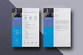 Clean Resume Template Creative Resume Cv Design One Page