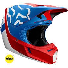 V3 Kila Helmet Blu Rd L Fox Helmets Fox Racing Helmet