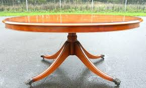 round pedestal coffee table positive large size of impressive images lar