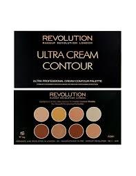 makeup revolution ultra cream contour kremowa paleta do konturowania twarzy