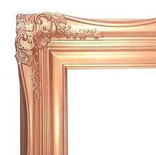 rose gold frames gold frame 4 ornate baroque french gold silver or rose gold framed beveled wall mirror rose gold formula framesi rose gold frames kmart