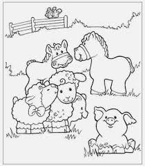 Disegni Da Colorare Gli Animali Della Fattoria