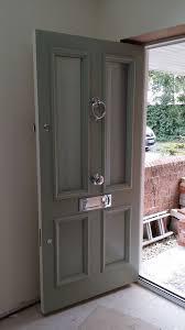 front door accessoriesVictorian Front Door an Farrow and Ball Blue Grey www