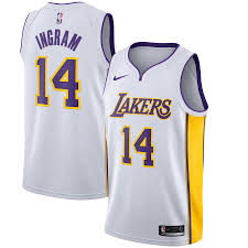 Brandon Lakers Edition - Los Jersey White Swingman Association Angeles Ingram