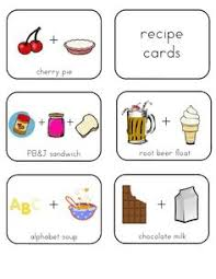 recipe cards for kids. Simple Cards Sensory Recipes For Kids  Homeschool Pinterest Color Rice Cloud Dough  And Silly Putty And Recipe Cards For C
