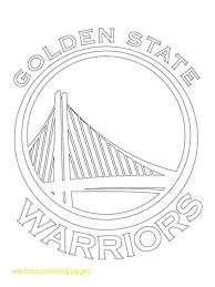authentic golden state warriors coloring pages better logo page new for