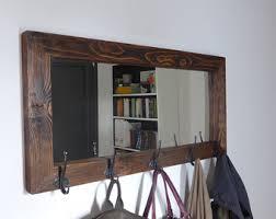 Coat Rack With Mirror And Shelf Mirror coat rack Etsy 25