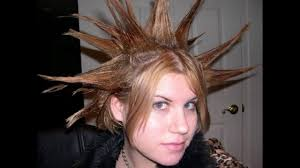 Crazy Woman Hair Style crazy hair ideas for girls youtube 7128 by wearticles.com