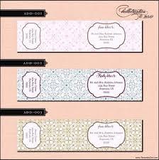 Printable Address Label Template For A7 Envelopes Return Address