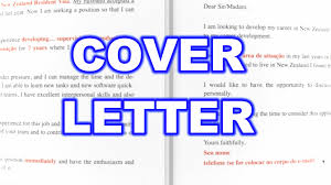 Cover Letter New Zealand 63 Youtube