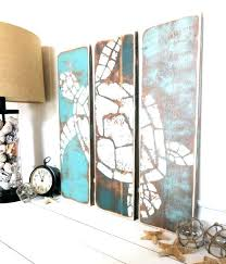 wall decor diy best turtles images on marine life and beach house vintage art