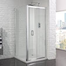 aquadart venturi 6 framless bi fold shower enclosure jpg